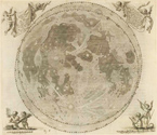 Lunar chart in Johannes Hevleius's Johannis Hevelii Selenographia sive lunae descriptio (1647)
