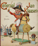 Cover of picture book Generaal Jan Klaasen, by Beata (Utrecht : Lentz & De Haan, 1896).