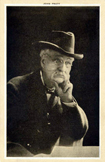A postcard showing a black and white photograph of John Pratt, the inventor of the typewriter. Postcard text: (back) John Pratt of Centre, Ala., inventor of the first practical typewriter, which later became the Hammond typewriter. Mr. Pratt completed his invention by 1864 and was granted a patent in London, England, in 1866. He was born at Union, S.C., April 14, 1831, removed to Alabama in his early manhood and died in 1905 and is buried in Centre, Ala. From the Auburn University Postcard Collection. PC317