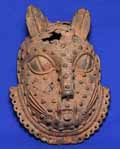 Benin leopard mask