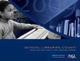 Cover of 2009 School Libraries Count! survey