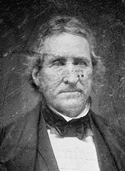 Daguerreotype image of Thomas Hart Benton, Democratic Senator from Missouri, 1821-1851. DAG no. 228