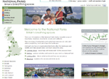 Archived website for British National Parks, Oct. 1, 2009