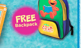Free Backpack - $5.95 Value